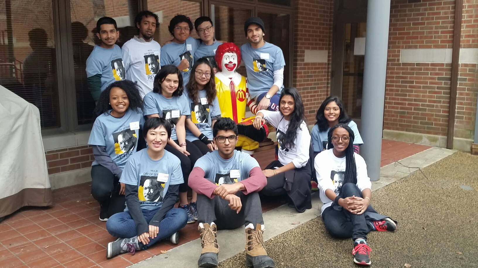 MLK Day of Service at Ronald McDonald House 2017 Group Photo